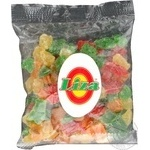 Dried fruits pineapple Liza diced 150g