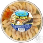 Fish herring Rusalochka with spices preserves 320g hermetic seal Ukraine