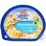 Seafood Vici in oil 200g Russia