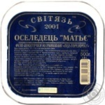 Fish herring Svitiaz Matie preserves 500g hermetic seal Ukraine