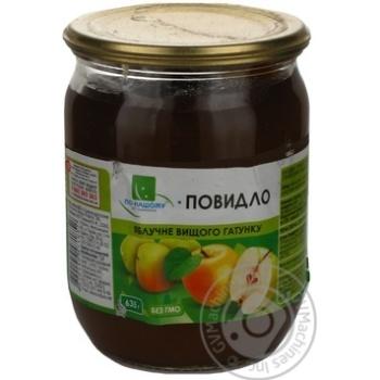 Повидло По-нашому яблоко 500мл стеклянная банка Украина