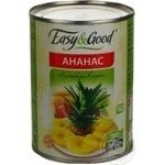 Fruit pineapple Easy and good ring 580ml can Thailand