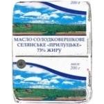 Butter Favorit Peasant style sweet cream 73% 200g Ukraine