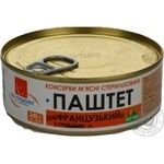 Pate Po-nashomu French liver mushroom 240g can Ukraine