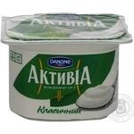 Бифидойогурт Активия классический 3.5% пластиковый стакан 115г Украина