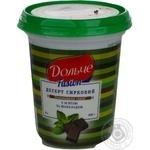 Десерт творожный Дольче Фьюжн с мятой и шоколадом 4% пластиковый стакан 400г Украина