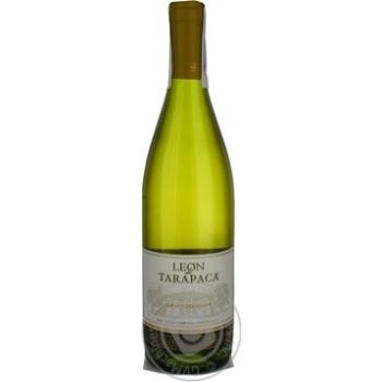 Leon de Tarapaca Chardonnay White Dry Wine 13% 0.75l - buy, prices for CityMarket - photo 1