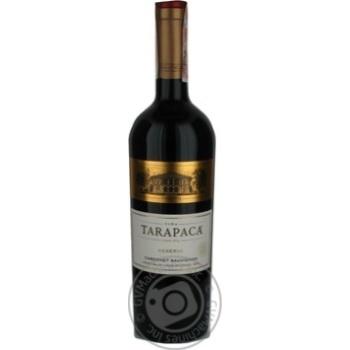 TaraPaca Cabernet Sauvignon Reserva Red Dry Wine 14% 0.75l - buy, prices for CityMarket - photo 1