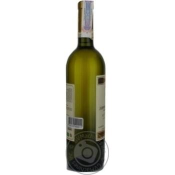 Вино белое Сердце Кахетии Алазанская Долина виноградное полусладкое 12% стеклянная бутылка 750мл Грузия - купить, цены на Novus - фото 3