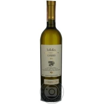 Вино Тбілвино Сачино Біле Напівсухе 0,75л х6