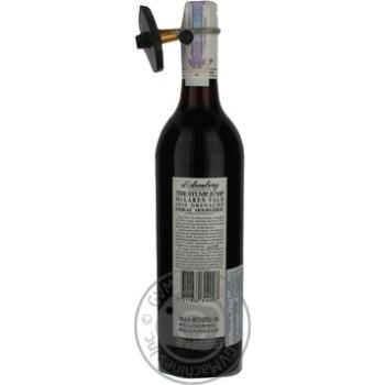 D'Arenberg Stump Jump Grenache 2008 Red Dry Wine 14% 0.75l - buy, prices for CityMarket - photo 3