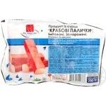Crab sticks Po-nashomu frozen 200g Russia