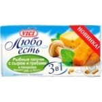 Fish sticks Vici Lyubo est with cheese precooked 250g