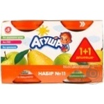 Puree Agusha pear for children from 5 months 230g glass jar Russia
