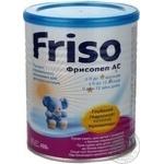 Смесь молочная Фрисо Фрисопеп АС сухая для детей с аллергией к белкам коровьего молока с рождения до 12 месяцев железная банка 400г Нидерланды