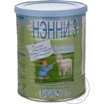Сухая молочная смесь Нэнни 3 с 12 мес 400г - купить, цены на Novus - фото 7