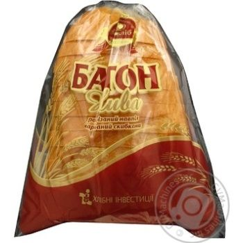 Long loaf Nyva Tsar hlib (sliced) 250g half
