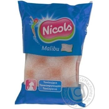 Губка для тіла Nicols Малібу масажна