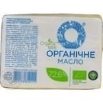 Масло Органик Милк органическое 72.6% 200г Украина