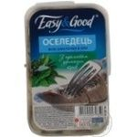 Fish herring Easy and good with aromatic herbs preserves 300g Ukraine