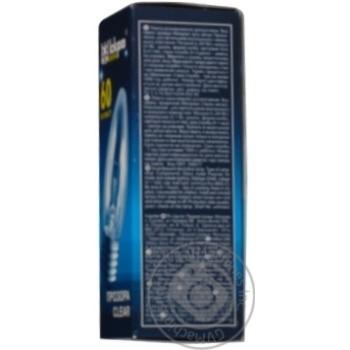 Лампа Искра Свеча электрическая прозрачная B36-230в 60вт Е27 - купить, цены на Novus - фото 2