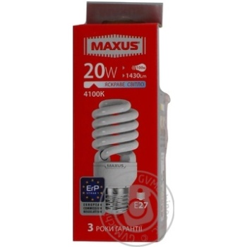 Bulb Maxus e27 20w