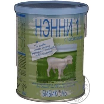 Замінник грудного молока з пребіотиками 0-6мес.Ненні 1,400г