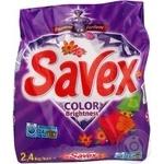 Порошок стиральн Savex Parfum LockColorBrightn авт 2,4кг