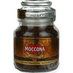 Кава розчин сублім Moccona Continental Gold 47,5г