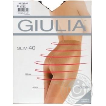 Колготки Giulia Slim жіночі nero 40ден 5р - купити, ціни на МегаМаркет - фото 3
