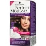 Paint-mousse Schwarzkopf for hair Germany