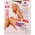 Tights Conte Solo bronze polyamide for women 40den 3size - buy, prices for Novus - image 2