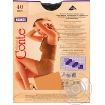 Колготы Conte Nuance 40 Den р.2 nero шт - купить, цены на Novus - фото 3