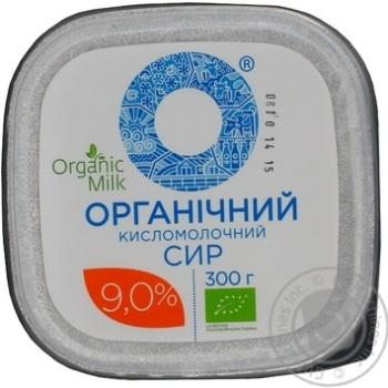 Творог Organic Milk органический 9% 300г