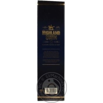 Віскі Highland Queen 12 років 40% 0.7л - купити, ціни на МегаМаркет - фото 2