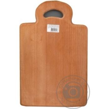 Дошка обробна з дерева цілісна Gonchar 33*24см - купить, цены на Novus - фото 1