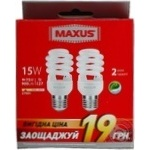 Maxus LED Lamp E27 15W 2pc