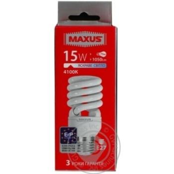 Maxus LED Lamp E27 15W
