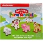 Іграшковий набір Kiddieland Свійські тварини