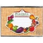 Наклейка Креатив принт Домашня консервація - купити, ціни на Фуршет - фото 1