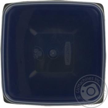 Миска-салатниця квадратна з кришкою Пластторг 0,5л 83177 - купити, ціни на Novus - фото 2