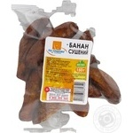 Dried fruits banana Po-nashomu dried 150g Ukraine