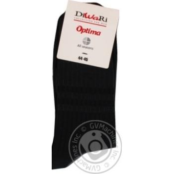 Шкарпетки чоловічі Diwari Optima All seasons р.29 022 графіт 7С-43СП