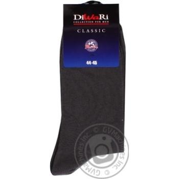 Шкарпетки чоловічі Diwari Classic темно-сірий розмір 29 - купити, ціни на CітіМаркет - фото 3