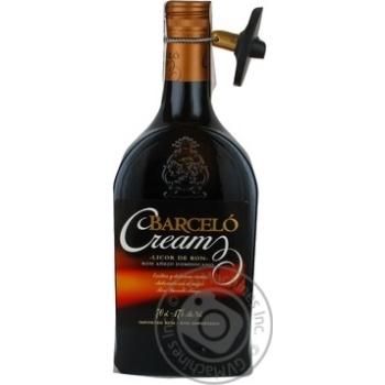 Лікер Barcelo Cream 17% 0,7л