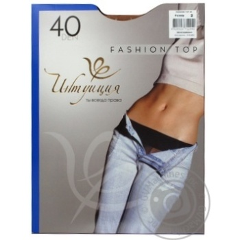 Intuyitsiya Fashion Top Women's Tights 40 den 2 daino - buy, prices for MegaMarket - image 3