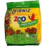 Печенье Leibniz Zoo jungle animals 100г