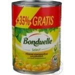 Vegetables corn Bonduelle canned 440g can Hungary