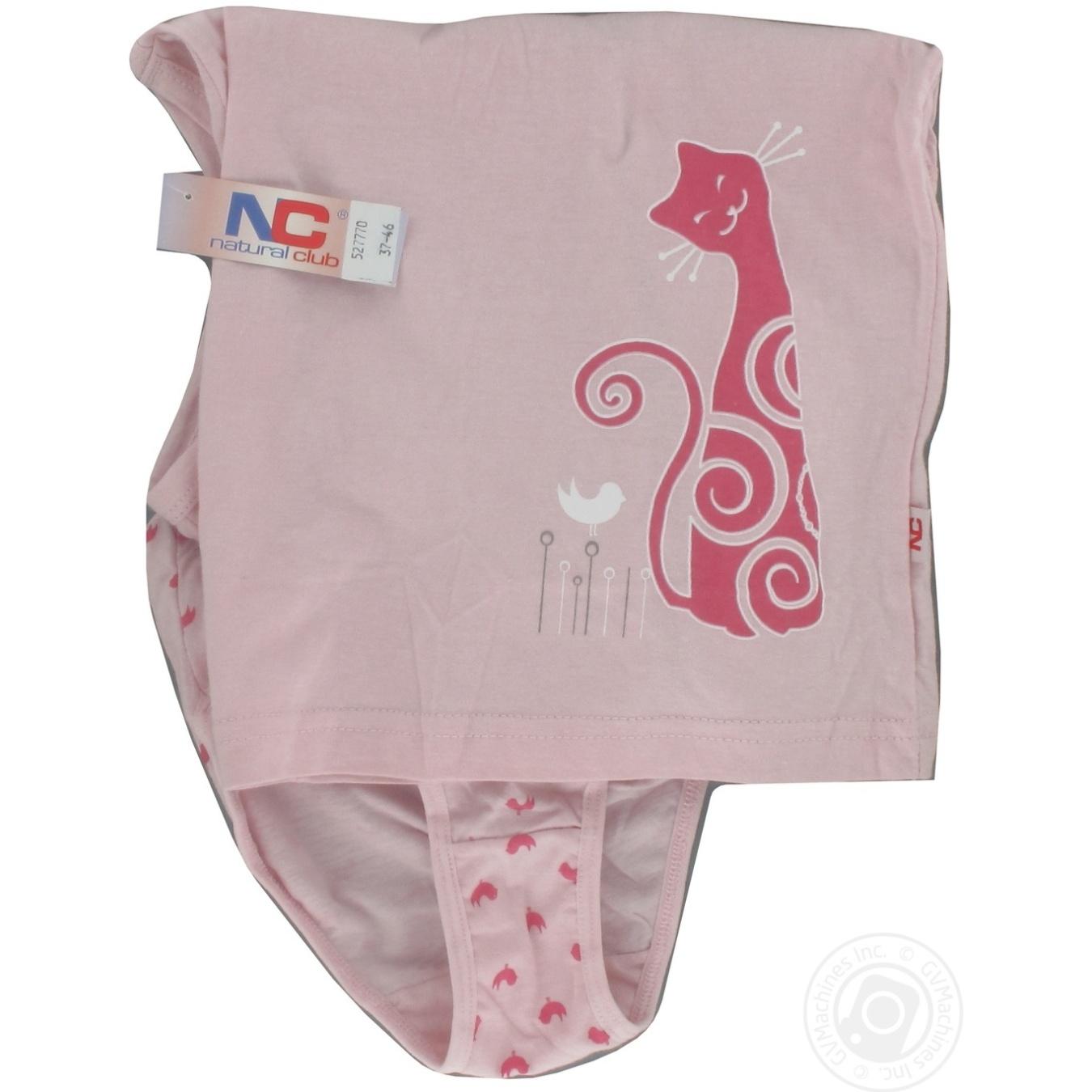 Комплект для дівчат дитячий Natural Club майка+труси 116-146 → Для ... 2cb370d55b5d7