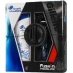 Подарунковий набір Бритва Gillette Fusion ProGlide + 1 картридж + Шампунь Head&Shoulders Основний догляд 200мл